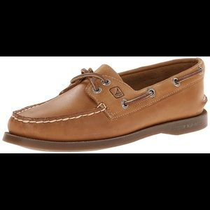 Sperry Topslider Genuine Leather Boat shoes size 7